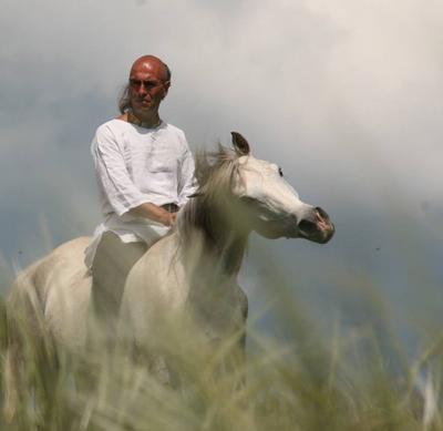 Vladimir Mustakerski horseman
